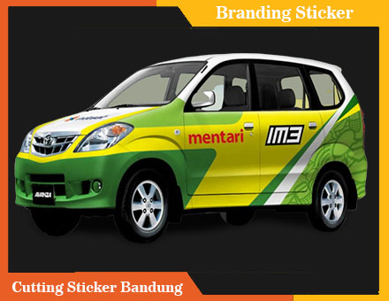 layanan branding sticker cutting sticker bandung