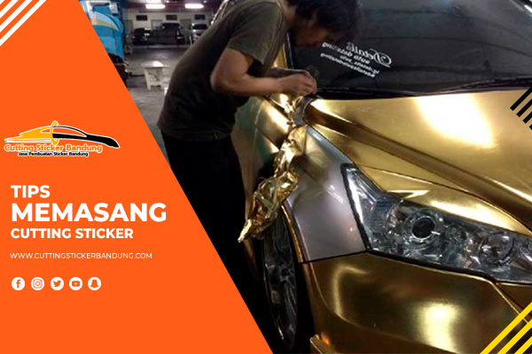 tips memasang cutting sticker